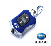 Genuine Subaru Tyre Pressure Gauge Key Chain SDM5008